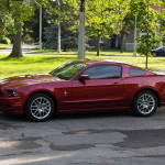 Ruby Red Mustang 2